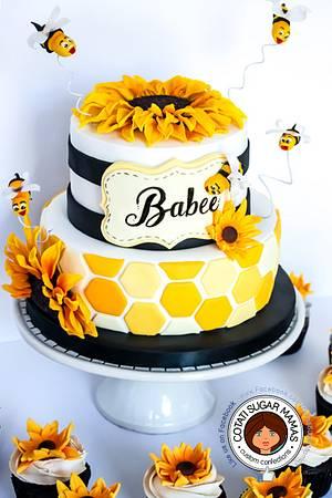 Babee shower cake - Cake by Isabelle (Cotati Sugar Mamas)