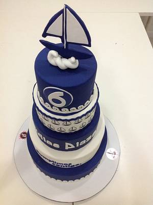 Aniversario cake centro comercial - Cake by Ana