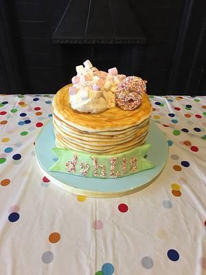 Pancake cake - Cake by Sneakyp73