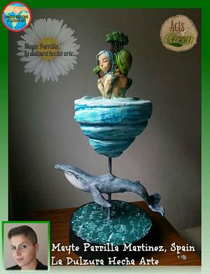 Colaboración Acts of Green 2016 - Cake by Mayte Parrilla