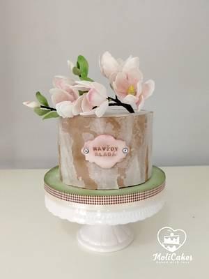 Magnolia... - Cake by MOLI Cakes