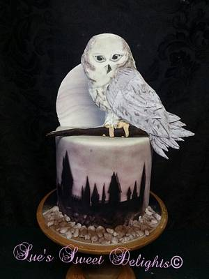 CPC Hogwarts Challenge 2017 Collaboration - Cake by Sue's Sweet Delights