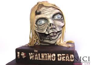 Zombie head- TWD - Cake by Nici Sugar Lab