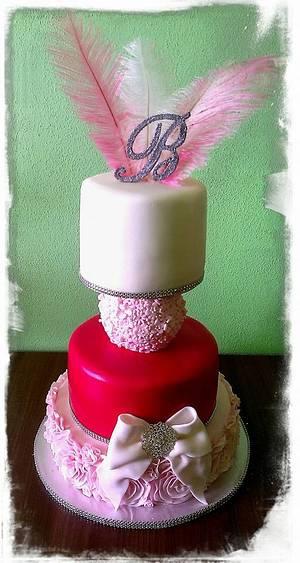 Birthday cake - Cake by cicapetra