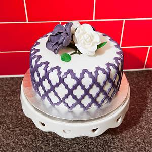 Cake for Mum - Cake by Lace Cakes Swindon