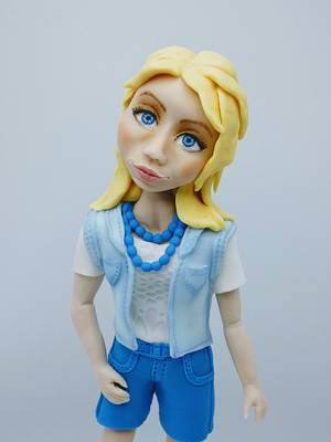 Hello I'm Lucie - Cake by Olina Wolfs