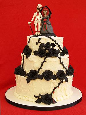 Amy & David - Cake by Sandra's cakes