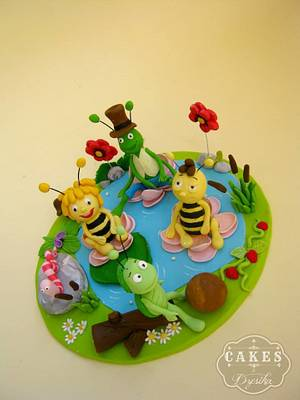 Maya the bee cake topper - Cake by Dzesikine figurice i torte