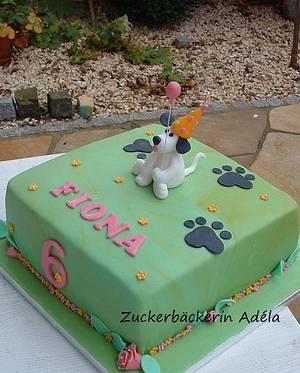 The little dog cake - Cake by Adéla