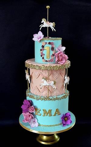 Merry go round - Cake by Delice