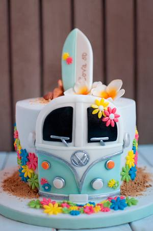 Hippie-surf cake - Cake by Carmen