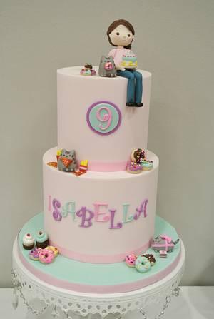 Pusheen Cake - Cake by eunicecakedesigns
