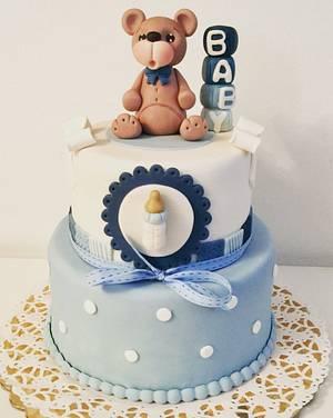 Baby shower - Cake by Bedina