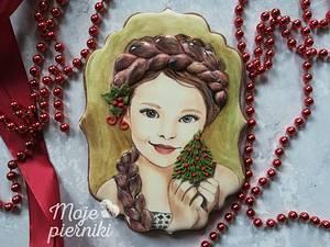 Girl with braid - Cake by Ewa Kiszowara