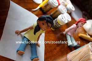 Teenager figure - Cake by Zoe's Fancy Cakes
