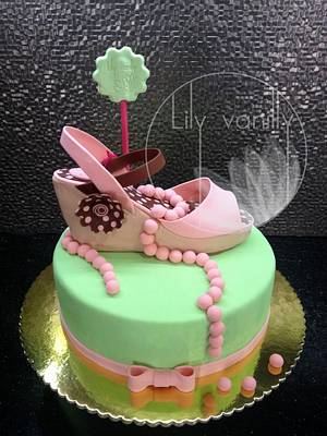 Shoe Cake - Cake by Lily Vanilly