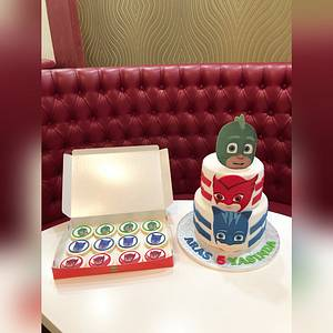 PJ mask cake - Cake by miracles_ensucre