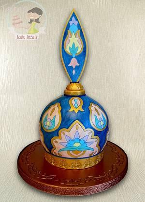 Perfume Bottle Cake - Cake by Natasha Shomali