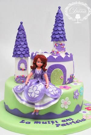 Princess Sofia cake - Cake by Cofetaria Dana