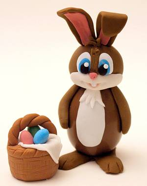 Conigliovetto Pasquale (Chocolate Easter Bunny) - Cake by Mellaland