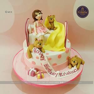 5th Birthday - Cake by Urvi Zaveri