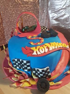 Hotwheels  cake - Cake by Sylwia Abd Rabou