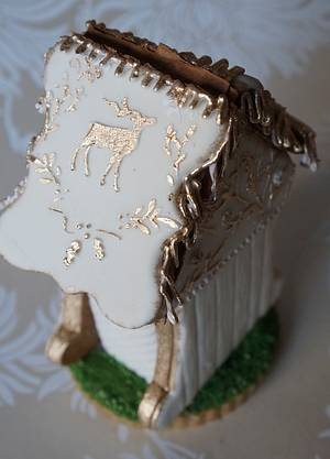 Gingerbread House  - Cake by carolina Wachter