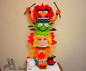 Threadcakes Muppets Totempole - Cake by Paisley Petals Cakes