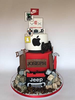 Favorite Things 16th Birthday Cake - Cake by Dani