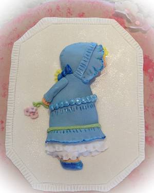 """Holly Hobby Figure  - Cake by June (""""Clarky's Cakes"""")"""