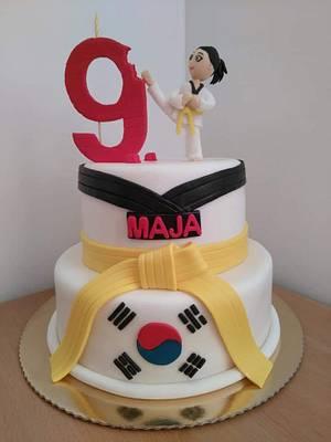 Teakwondo cake  - Cake by Slatkaradionica-Amra