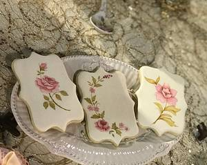 Cookies pintadas a mano  - Cake by Griselda de Pedro