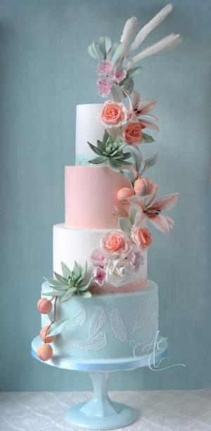 Lily - Cake by Amanda Earl Cake Design