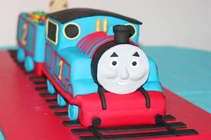 Thomas party - Cake by Susan Silva