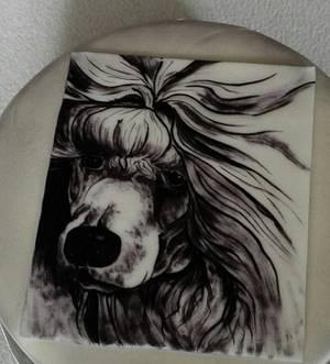 Poodle - Cake by Anka