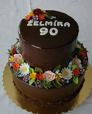 Chocolate cake for grandma - Cake by MartaMc