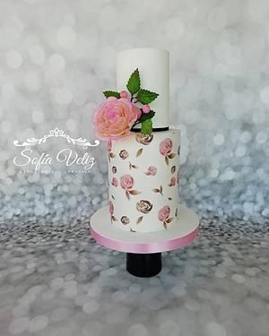ROMANTIC CAKE - Cake by Sofia veliz