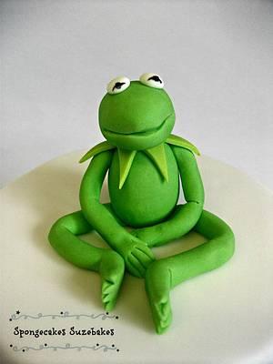 Kermit The Frog - Cake by Spongecakes Suzebakes