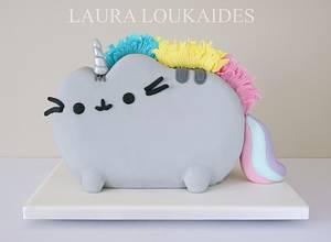 Pusheenicorn Cake - Cake by Laura Loukaides