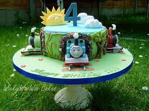 Thomas the Tank Engine and Friends - Cake by WickyWooWoo Cakes