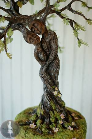 My Tree Lovers for Greece - Cake by Tonya Alvey - MadHouse Bakes