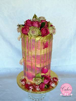 Triple barrel  - Cake by Cakes Inspired by me