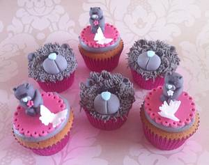 Tatty Teddy Cupcakes for a 60th!  - Cake by Carrie
