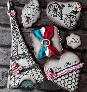 For friends from France - Cake by Ewa Kiszowara