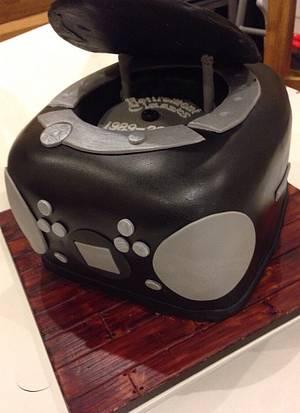 Stereo Cake - Cake by Mimi's Sweet Treats