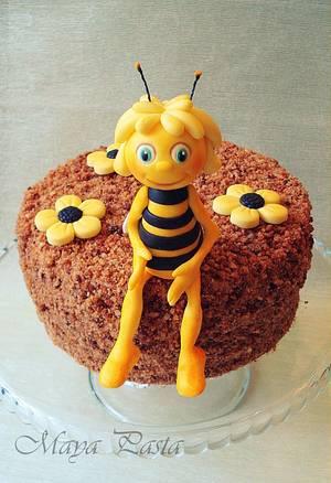 Maya the Bee honey cake - Cake by Maya Suna