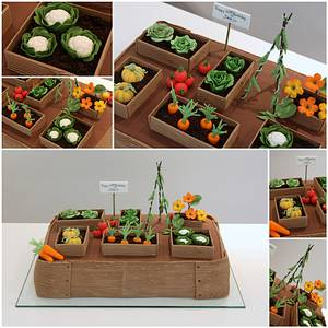 Vegetable Patch Birthday Cake - Cake by TiersandTiaras