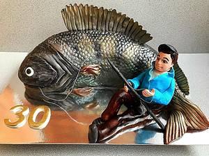 3D Fish cake - Cake by Julia