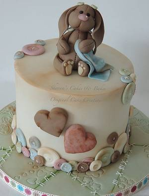 Antique bunny - Cake by Shereen
