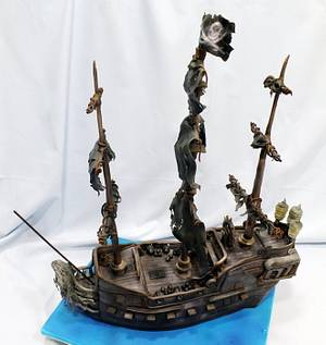 Pirates of the Caribbean : Black Pearl Cake - Cake by Star Cakes